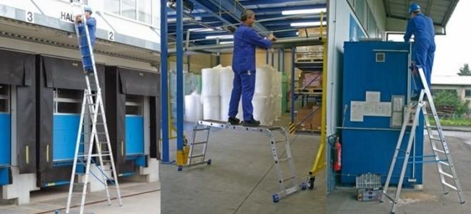 Алюминиевые лестницы: виды конструкций и их отличительные черты, как выбрать нужную