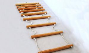 Изготовление веревочной лестницы своими руками: необходимые материалы и пошаговая инструкция