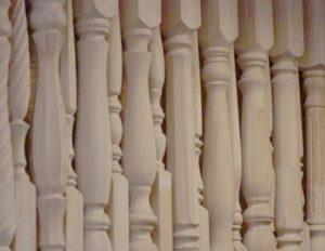 Балясины для лестницы из бука